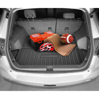 3W Cargo Liner Compatible for Honda CR-V 2017-2021 Without SUB-WOOFER All Weather Custom Fit Trunk Liner for Honda CRV Heavy Duty Trunk Mat Behind 2nd Row NOT for Touring Black