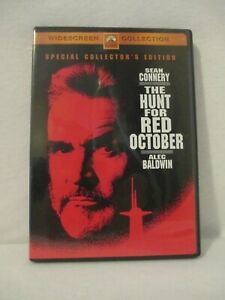 The Hunt for Red October (DVD, 2003, Collectors Edition) Widescreen