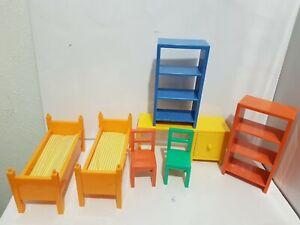 IKEA Lillabo meuble chambre enfant dollhouse furniture kid bedroom maison poupée