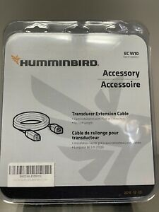 Humminbird EC-W10 10 ft Transducer Extension Cable Extends to 10 Feet 720003-1