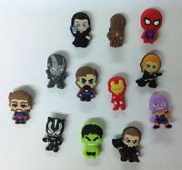 The Avengers PVC Shoe Charms Bracelet Wristband