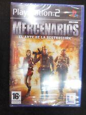 Mercenarios playstation 2 Nuevo y precintado Pal