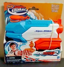 Brand NEW Sealed Super Soaker Nerf Microburst 2 II Water Blaster Squirt Gun Toy