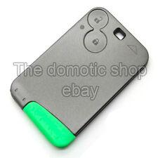 Coque Carte de Remplacement Télécommande 2 boutons Laguna Plip Clé Renault
