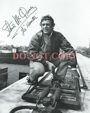 Steve McQueen Autographed 8x10 Signed Photo Reprint