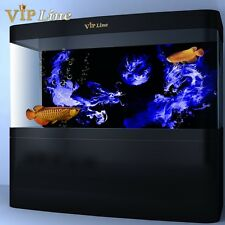 Smoke Dragon PVC Aquarium Background Poster Fish Tank Decorations Landscape