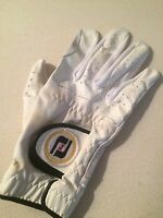 """Pre-Owned Ladies Single Right-Handed White Golf Sporting Glove Size 7""""/18cm"""