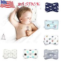 New Baby Infant Newborn Pillow Flat Head Sleeping Support Cushion Prevent Soft#O