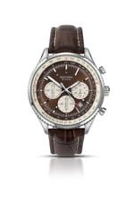 Sekonda 3407 Gents Watch Chronograph Leather Strap RRP £79.99