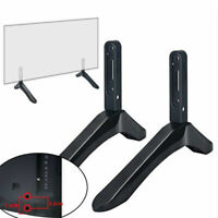 2PCS Universal TV Stand Base Mount Holder for Samsung Vizio LG 32-65 inch Screen
