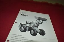 Yale 2000 Loader Guide Dealers Brochure DCPA2