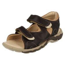Chaussures marron avec attache auto-agrippant pour garçon de 2 à 16 ans Pointure 31