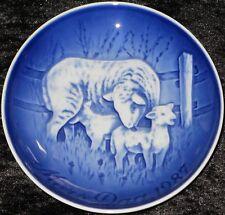 1987 Bing & Grondahl/Royal Copenhagen madre tag Piatto Top 1. scelta
