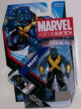 MARVEL UNIVERSE  SERIES X-MEN BEAST ACTION FIGURE W/COLLECTIBLE COMIC SHOT