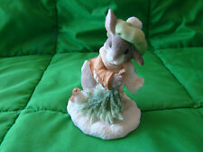 Enesco, My Blushing Bunnies, Boy w/tree Branch 178616L