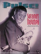 Louis Armstrong 2000 Satchmo's Triumph Original Pulse! Magazine Cover Poster