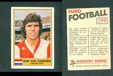 Wim Van Hanegem (Nederland) Panini Soccer CARD 1976!! Excellent! n.199!!