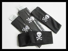 Pirate Bandana Headbands, Boys Party Bag Toys, Fancy Dress, Skull Cross bones