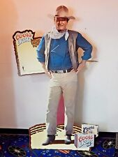 VINTAGE COORS LIGHT STORE DISPLAY JOHN WAYNE LIFE SIZE STANDEE 72""