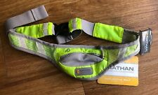 Nathan Reflective Belt Running Pak ID Pocket Adjustable- New With Tags Yellow