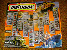 "1997 MATCHBOX 31""X26"" POSTER MEGA-RIG RESCUE CAT SERIES 1 TO 10 NEW"