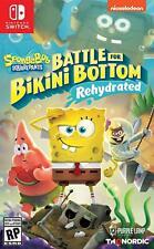 Spongebob Squarepants: Battle for Bikini Bottom Rehydrated (Nintendo Switch) NEW