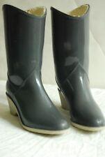 Gummistiefel Cowboy Western,grau,Gr. 36,getragen,mit Futter,Made in Switzerland