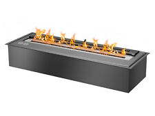 EB2400 Black - Ignis Ventless Bio Ethanol Fireplace Burner Insert