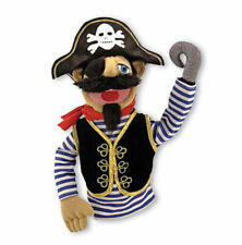 """15"""" PIRATE PUPPET  Free Shipping in USA ~ Melissa & and Doug  #3899"""