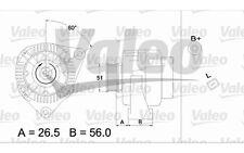 VALEO Alternador MERCEDES-BENZ CLASE C CLK M SLK 437224