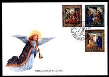 Weihnachten. FDC. Lettland 2003