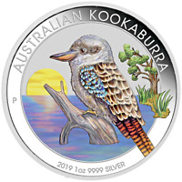 2019 World Money Fair Berlin Show Special Kookaburra 1oz $1 Silver Colored Coin