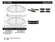 Disc Brake Pad Set-C-TEK Metallic Brake Pads-Preferred Front fits 02-12 Urvan