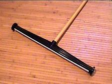 "New Magnet Clean Push Broom 24"" Sweeper 48"" Handle E-Z Off Home Garage School"