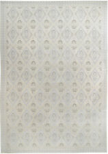 Vinatage Transitional, Handknotted Wool Rug, (12' x 17')