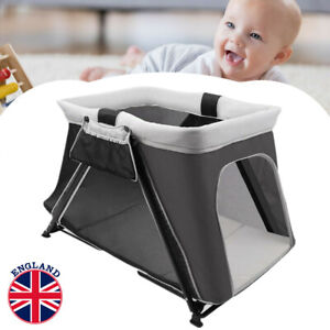 3 IN 1 Portable Baby Travel Cot Crib Foldable Playpen Infant Bassinet Bed Cot UK
