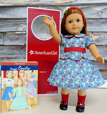 American Girl Emily Doll Book Emily's Accessories Retired Cc5