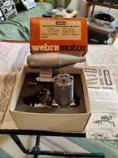 Vintage Model Engine WEBRA SPEED 61 F CHAMPION RC DYNAMIX CARB & MUFFLER