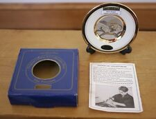 "Original ""Bald Eagle"" Japan Chokin Porcelain Art 24k Gold Rim Collectible Plate"