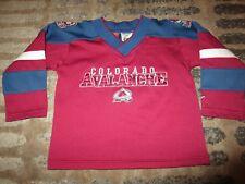 Joe Sakic #19 Colorado Avalanche Nike Hockey Jersey Baby Toddler 24m