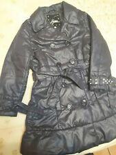 giubbino bambina piumino giacca Giacchino 7 Anni blu bottoni cerniera giacchetta