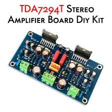 HiFi 2.0 Channel TDA7294 Stereo Audio Power Amplifier Board DIY Kit Amp 70W*2