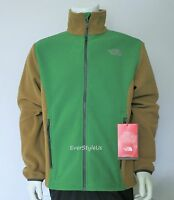 NEW NORTH FACE Tibesti Men's Full Zip Fleece Jacket Sullivan Green M,L,XL,XXL