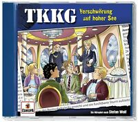 TKKG - 204/VERSCHWÖRUNG AUF HOHER SEE   CD NEU