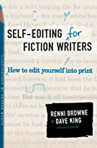 Self-Editing for Fiction Writers, Second Edition, Excellent, King, Dave,Browne,