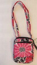 Women's Vera Bradley Mini Hipster Crossbody Cheery Blossoms Purse Wallet 14414