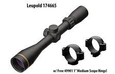 "Leupold 174665, VX-Freedom 4-12x40mm 1"" Tri-MOA Reticle Scope w/ Free 49901"