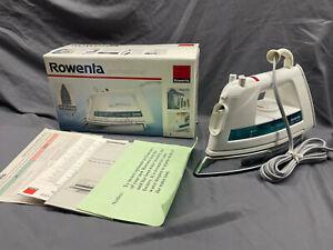 Rowenta Professional DE-821 Titan Plus Steam Iron In Box Made In Germany