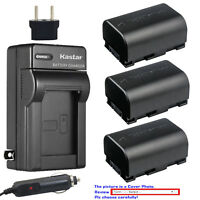 Kastar Battery AC Charger for JVC BN-VG107 JVC Everio GZ-HM855 Everio GZ-HM970