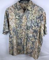 Tori Richard Mens 2XL B Hawaiian Aloha Shirt  Cotton USA Made